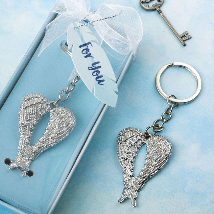 LOVE Guardian Angel Keychain